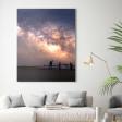 Augustus 2019 - Beste tijd om sterrensporen op je canvas vast te leggen