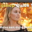 Fake een dure portretlens | Photoshop Quick Tip