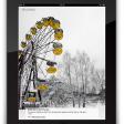 Tsjernobyl expositie op de iPad