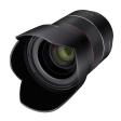 Samyang's introduceert vierde Autofocus objectief: AF 35mm F1.4 FE.