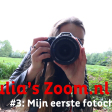 Julia's Zoom.nl Vlog (3) - Mijn eerste foto challenge!
