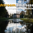 Lightroom edit sessie - Complete fotobewerking op video