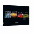 Boek: National Geographic: Water, lucht, vuur, aarde