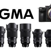 7 nieuwe Sigma ART objectieven voor Sony FE