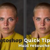 Huid retoucheren | Photoshop Quick Tip © thumbnail, photoshop, quick tip