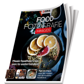 Tips voor foodfotografie - gratis minigids! © minigids, cover, nikon, foodfotografie, liggend
