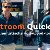 Een cinematische Hollywood-look geven aan je portret | Lightroom Quick Tip © thumbnail, photoshop, quick tip