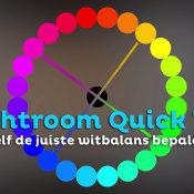 Zelf exact de juiste witbalans bepalen | Lightroom Quick Tip © thumbnail, witbalans, lightroom