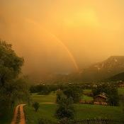 Op welke momenten van de dag krijg je het mooiste licht? © regenbui, licht, lucht