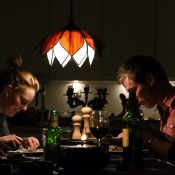 Expertuitdaging: Sfeervolle huiselijkheid © sfeerverlichting, avond, aardappeleters
