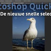 Leer werken met de nieuwe snelle selectietool! | Photoshop Quick Tip © selectie, tool, thumbnail
