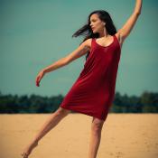 De resultaten van de expertuitdaging: kleurcontrast gebruiken © kleurcontrast, dans, zand