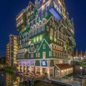 Expertuitdaging: Architectuur fotograferen in de nacht © hotel, zaandam, architectuur, nacht
