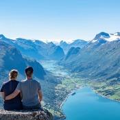 De resultaten van de expertuitdaging: verhalende vakantiefotografie © vakantie, uitzicht, bergen