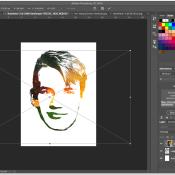 Quickstart: Van portret tot logo © quickstart, face, 3