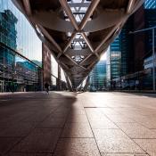 Basiscursus architectuurfotografie - oog voor het lijnenspel © nederland, den haag, architectuur