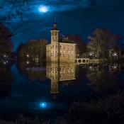 Nachtfotografie voor beginners © nachtfotografie, kasteel, maanlicht