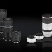 Vier nieuwe Canon EOS RF-objectieven & twee extenders © canon, objectieven, eos, 600mm, extenders, 800mm, RF