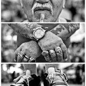 Creatieve straatfotografie - drieluiken van vreemden © drieluik, straatfotografie, Adesokan