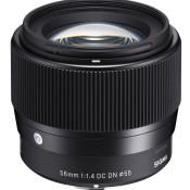 Sigma 56mm 1:1.4 DC DN Contemporary - Ideaal voor karaktervolle beelden