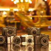 De revolutie van de systeemcamera  © systeemcamera, testpanel, Sony, Samsung, Nikon, Olympus, Panasonic,  Pentax, Sony