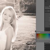 Photoshop: Sepia-effect © quickstart, lightroom, sepia