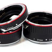 Fotodokter: Tussenringen voor macrofotografie © Aputure Macro Tube, tussenringen, Canon, Nikon, macro