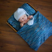 8 tips voor newbornfotografie  © baby, bedje, newborn