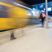 Beweging in je foto voor beginners © beweging, beginners, trein