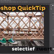 Selectief Zwart-wit | Photoshop QuickTip © thumbnail, quicktip, nabewerking