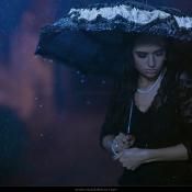 Expertuitdaging: portretfotografie in de regen © regen, paraplu, emotie