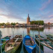 Expertuitdaging: Fotografeer de skyline van jouw stad of dorp © hasselt, water, skyline