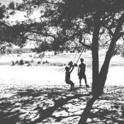 Expertuitdaging: Contrast en schaduwen © zon, schaduw, spelen, kinderen