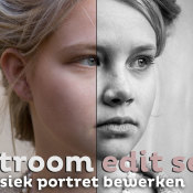 Een krachtig klassiek portret bewerken | Lightroom edit sessie © thumbnail, edit, portret