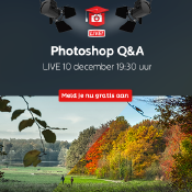 Photoshop Q&A - Zoom Academy Live   Schrijf je nu gratis in!