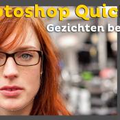 Gezichten bewerken met de gezicht tool | Photoshop Quick Tip © photoshop, quick, tip, thumbnail