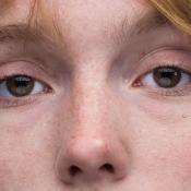 De ogen corrigeren van een model in Lightroom © IDG NL