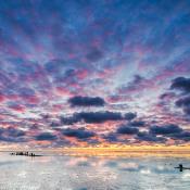 5 tips om de zonsondergang te fotograferen © zonsondergang, wolken, wolkenlucht