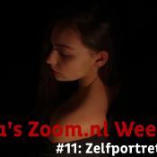 Julia's Zoom.nl Vlog (11) - Zelfportret maken in huis! © thumnail, vlog, 11