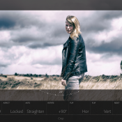 Quickstart: Swipen naar zwart-wit in Lightroom Mobile © Lightroom, App, quickstart