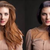Verander een haarkleur in Adobe Photoshop! © haarkleur, aanpassen, voorna