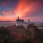 Top 15 plekken op de wereld die je gefotografeerd moet hebben. © kasteel, beieren, duitsland
