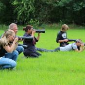 In actie met de Tamron 100-400mm © Tamron, hondenfotografie, behind the scenes