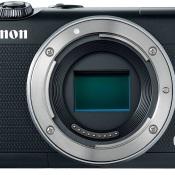 Review: Canon EOS M100 © eos, m100, front