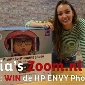 Julia's Zoom.nl Vlog (2) - WIN de HP ENVY Photo 7830! © Thumbnail, vlog, 2