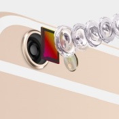 Nieuwe iPhone 6 en iPhone 6 plus met vernieuwe camera © Apple, iPhone 6, iPhone 6 Plus, smartphone