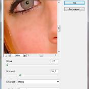 Maak de huid gladder met Photoshop Elements  © quickstart,huidverzachten,Huid02