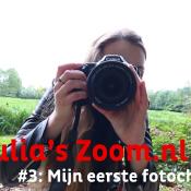 Julia's Zoom.nl Vlog (3) - Mijn eerste foto challenge!   © thumbnail, vlog, 3