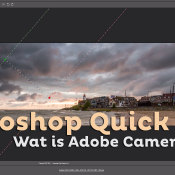Wat is Adobe Camera RAW? | Photoshop Quick Tip © thumbnail, quick, tip