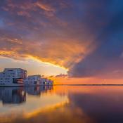 Tips voor sterke composities voor landschapsfotografie © compositie, landschap, wolken